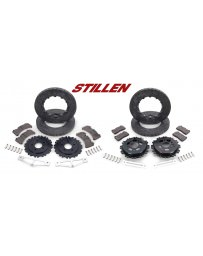 Nissan GT-R R35 Stillen Carbon-Ceramic Matrix Brake Upgrade - 12-13