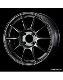 WedsSport TC-105X 15x7 4x100 ET20 Wheel- Titanium