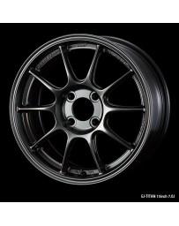 WedsSport TC-105X 15x7 4x100 ET48 Wheel- Titanium