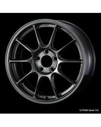 WedsSport TC-105X 16x7 5x100 ET48 Wheel- Titanium
