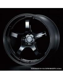 WedsSport RN-05M 19x9.5 5x114.3 ET48 Wheel- Gloss Black
