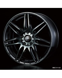 WedsSport SA-77R 16x5 4x100 ET45 Wheel- Weds Black Chrome