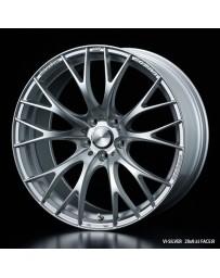 WedsSport SA-20R 20x9.5 5X114.3 ET38 Wheel- Silver