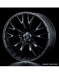 WedsSport SA-20R 19x9.5 5X114.3 ET38 Wheel- M-Black