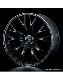 WedsSport SA-20R 20x9.5 5X114.3 ET48 Wheel- M-Black