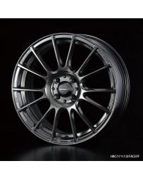 WedsSport SA-72R 17x7.5 4x100 ET38 Wheel- Hyper Black
