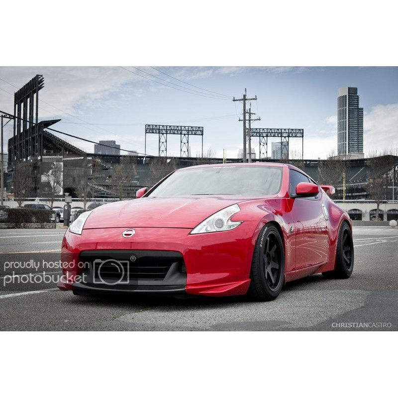 370Z EVO-R Front Lip 3 Pieces Version