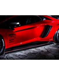LeapDesign Aventador LP 750-4 SV Carbon Side Skirts