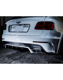 LeapDesign Bentley Bentayga - Carbon Rear Bumper (with muffler cutter)