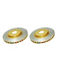 Toyota GT86 DBA HD Series Brake Disc - Front pair - DRILLED & SLOTTED