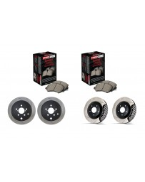 Toyota GT86 StopTech Discs & Sport Performance Pads kit - SLOTTED