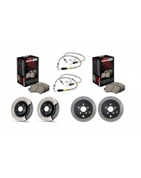 Toyota GT86 StopTech COMPLETE kit - SLOTTED
