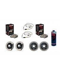 Toyota GT86 StopTech COMPLETE kit with fluid - SLOTTED