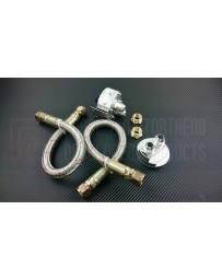Nissan GT-R R35 P2M Oil Filter Relocation Kit - Universal