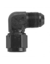 Chase Bays -3AN Female to Male 90 Adapter - Black