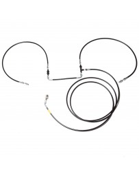 Chase Bays Front to Rear Brake Lines & Rear Hard Line Delete - 82-91 BMW E30