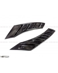 4 Second Racing Club 4SRC Nissan GTR35 Dry Carbon N Series Fender Wing Vents