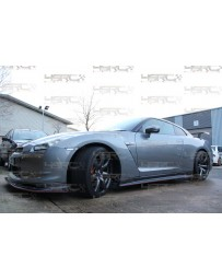 4 Second Racing Club Nissan GT R35 full carbon replacment side skirts
