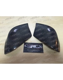 4 Second Racing Club Nissan GT R35 carbon fibre mirror caps half cover