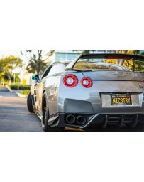 4 Second Racing Club Nissan GT R35 TK style full carbon fibre spoiler