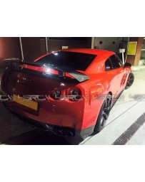 4 Second Racing Club Nissan GT R35 Carbon Fibre Z-Style Lower Rear Bumper Diffuser/Valances