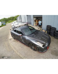 4 Second Racing Club Nissan GT R35 Full carbon roof skin - Cover type