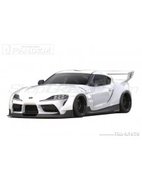 Toyota Supra GR A90 Greddy Pandem Aero Full Wide Body Kit, FRP