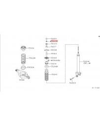350z Nissan OEM Axle Rear Suspension Nut