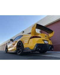 Toyota Supra GR A90 Fly1 Motorsports Auto Tuned S1 Rear Diffuser