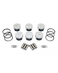 Nissan GT-R R35 Manley Platinum Series Extreme Duty Lightweight Piston Set, 84.4mm Stock Stroke