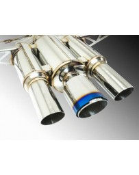 Remark Spec III Resonated Triple Tip Catback Exhaust with Burnt Stainless Tip Cover Honda Civic Type-R 17-19
