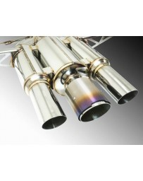 Remark Spec III Resonated Triple Tip Catback Exhaust with True Titanium Tip Cover Honda Civic Type-R 17-19