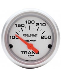Nissan GT-R R35 AutoMeter Ultra-Lite Mechanical Transmission Temperature Gauge 100-250 Deg F - 52mm