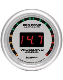 Nissan GT-R R35 AutoMeter Ultra-Lite Digital Wideband Air Fuel Ratio Street Gauge - 52mm