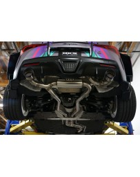 Toyota Supra GR A90 HKS Stainless Steel Cat-Back Exhaust System