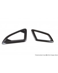 Revel GT Dry Carbon Defroster Garnish (Left & Right) 2016-2018 Honda Civic - 2 Pieces