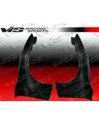 VIS Racing 2009-2012 Nissan Skyline R35 Gtr 2Dr Oem Style Carbon Fiber Fenders