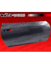 VIS Racing Carbon Fiber Door OEM Style for Toyota Supra 2DR 93-98