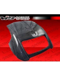 VIS Racing 2000-2009 Honda S2000 2Dr Techno R Carbon Fiber Hard Top In 1 By 1 Weave