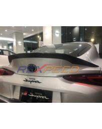 Toyota Supra GR A90 Rexpeed Carbon Fiber Spoiler