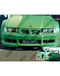 VIS Racing 1992-1998 Bmw E36 2Dr Gt Widebody Full Kit