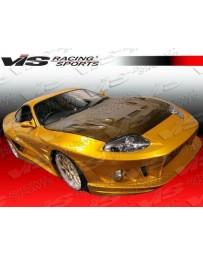 VIS Racing 1993-1998 Toyota Supra 2Dr Alfa Widebody Full Kit