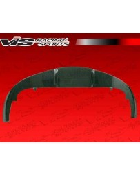VIS Racing 2005-2009 Ferrari F430 N Tech Carbon Fiber Front Lip Add-On
