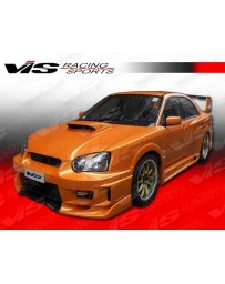 VIS Racing 2004-2005 Subaru Wrx 4Dr Z Speed Wide Body Full Kit