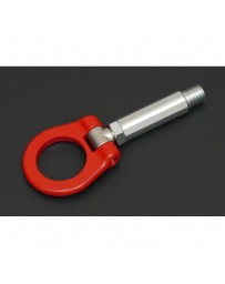 Toyota Supra GR A90 Cusco Front Folding Tow Hook - Red