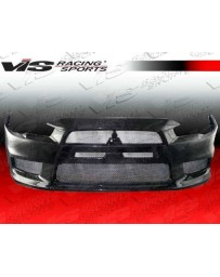 VIS Racing 2008-2014 Mitsubishi Evo 10 Oem Style Carbon Fiber Full Kit