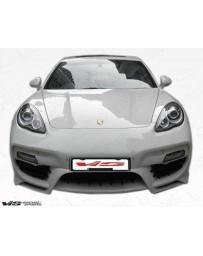 VIS Racing 2010-2013 Porsche Panamera Concept D Front Bumper
