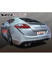 VIS Racing 2010-2013 Porsche Panamera Concept D Rear Bumper.