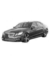 VIS Racing 2010-2012 Mercedes E Class W212 4Dr Vip Side Skirts