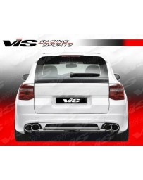 VIS Racing 2008-2010 Porsche Cayenne A Tech Rear Bumper